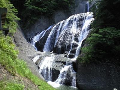 袋田の滝5月-3
