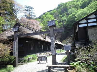 乳頭温泉鶴の湯入口