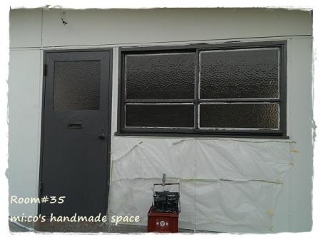 窓枠ペイント2