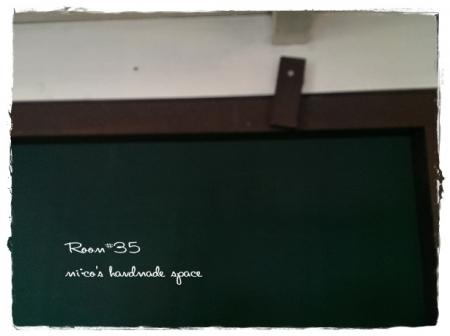 黒板取り付け (2)