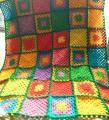 モチーフ編みのマルチカバー