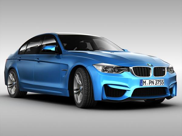 BMWM3Sedan4 2015