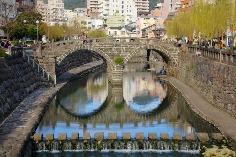 眼鏡橋の全景