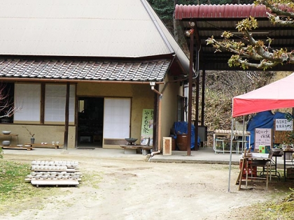 2014讃窯「春のやきもの祭」会場の様子