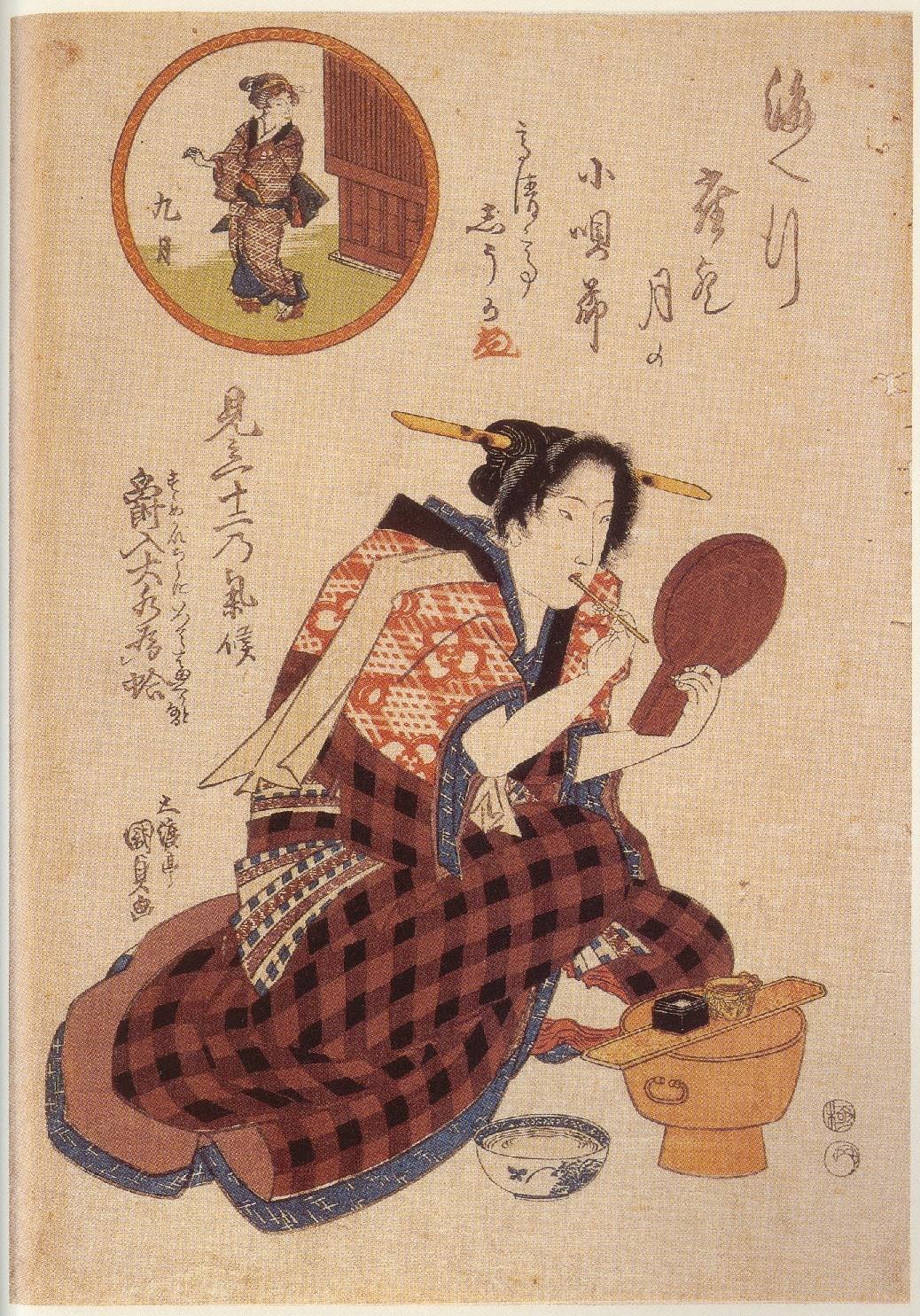 江戸時代歯磨き