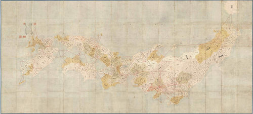 吉宗日本地図