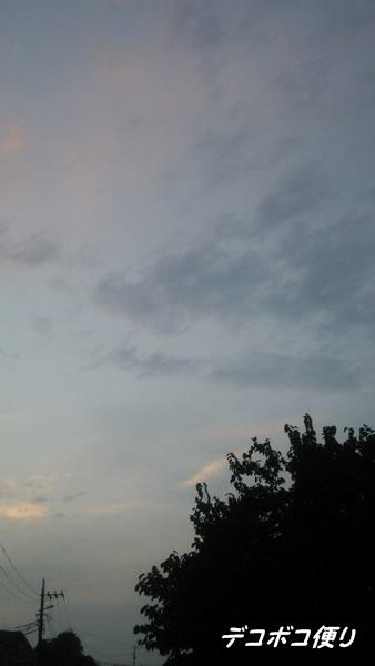 20140911夕方散歩とスキアリオトコ