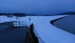 JR発電所 山本山貯水池