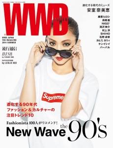 WWD JAPAN 安室奈美恵 × SUPREME