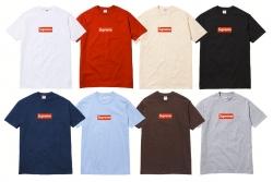SUPREME 20周年記念ボックスロゴTシャツ