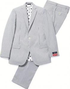シュプリーム × ブルックスブラザーズ スーツ