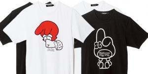 アンダーカバー × マイメロディ コラボTシャツ