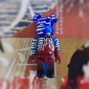赤富士ベアブリック