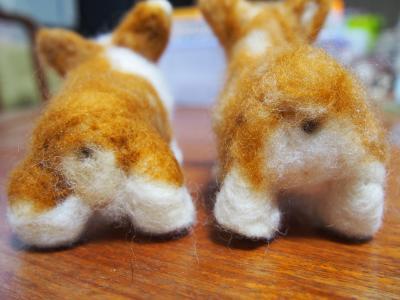 羊毛おちり