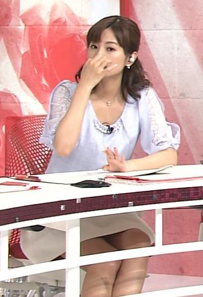 徳島えりか ミニスカ太もも&▼ゾーン(Going! Sports&News 20140408)