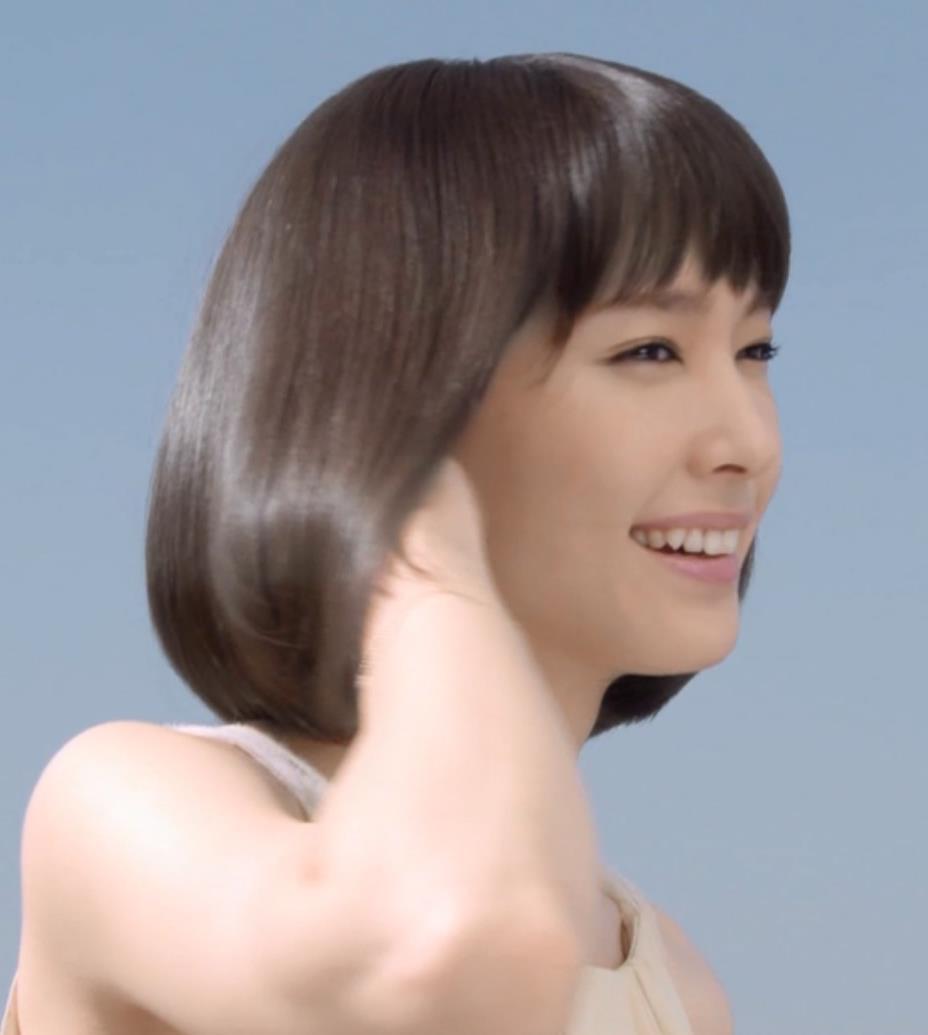 新垣結衣 シャンプーCMキャプ・エロ画像3