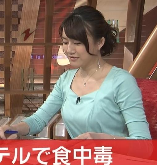大島由香里 胸ちらキャプ・エロ画像4