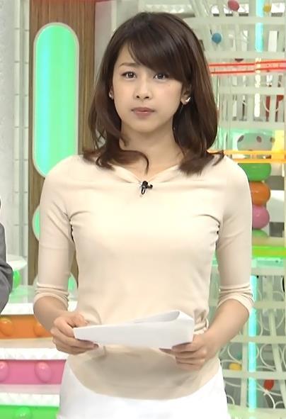 加藤綾子 ミニスカートキャプ・エロ画像2