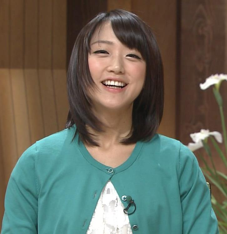 竹内由恵 かわいい笑顔キャプ・エロ画像