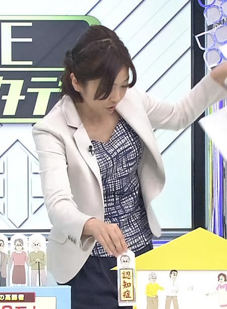 久保田智子 胸ちらキャプ・エロ画像3