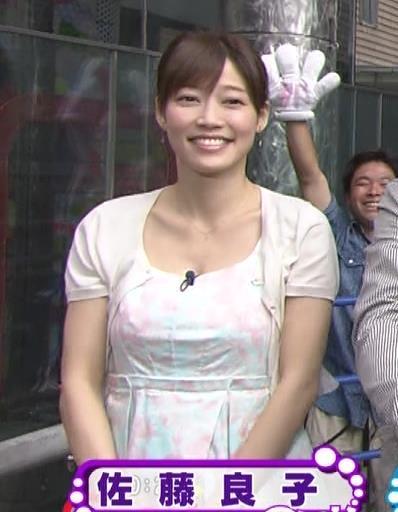 佐藤良子 胸の谷間キャプ・エロ画像2