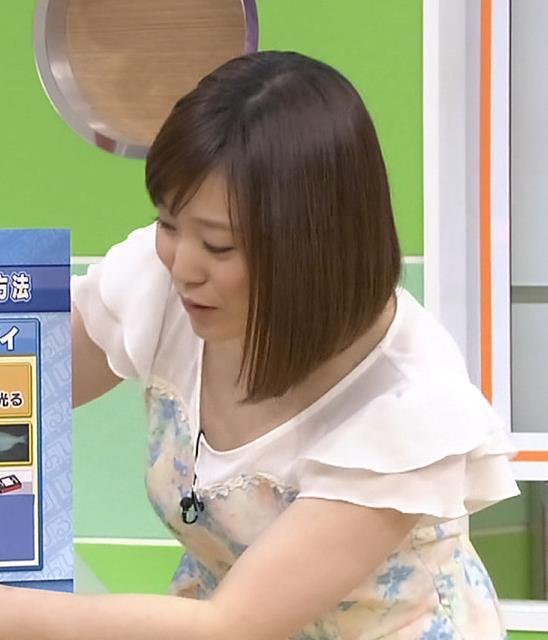 江藤愛 胸ちらキャプ・エロ画像4