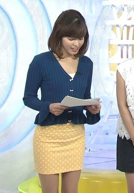 神田愛花 タイトミニスカートがすごくエロい