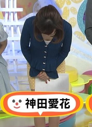 神田愛花 タイトミニスカートキャプ・エロ画像2