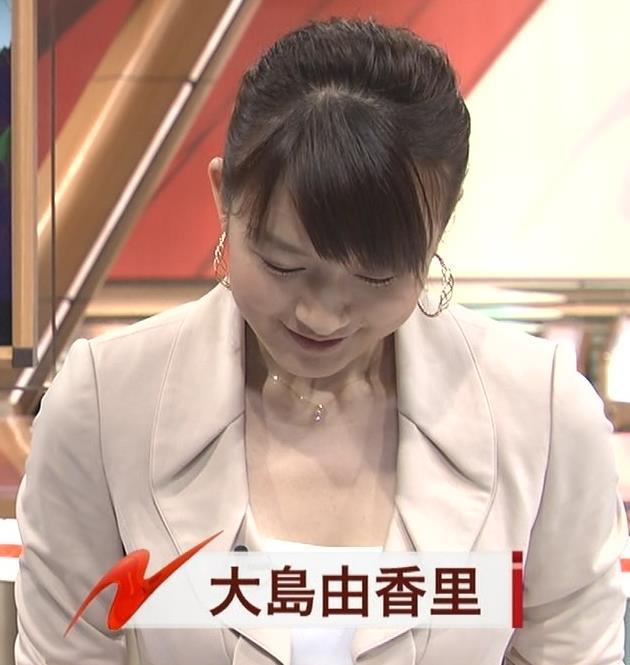 大島由香里 露出キャプ・エロ画像2