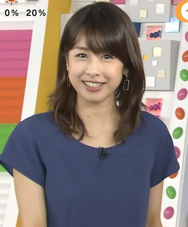 加藤綾子 胸ちらキャプ・エロ画像4