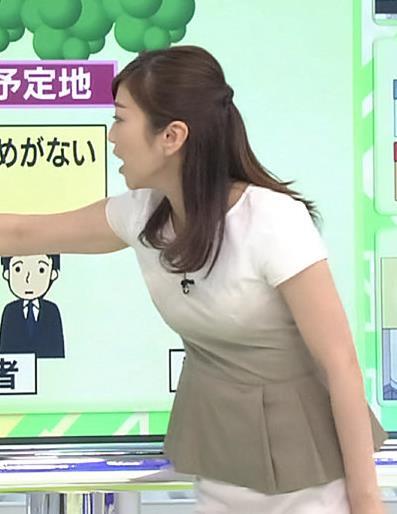 久保田智子 おっぱいキャプ・エロ画像4