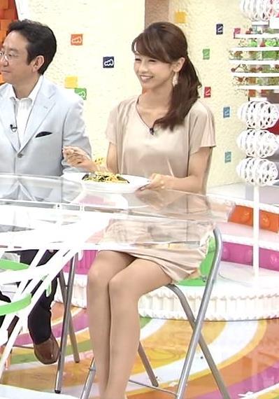 加藤綾子 きわどいミニスカ▼ゾーン