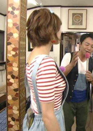 大島麻衣 横乳キャプ・エロ画像5