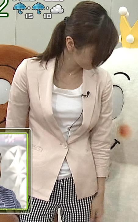 久保田智子 胸ちらキャプ・エロ画像9