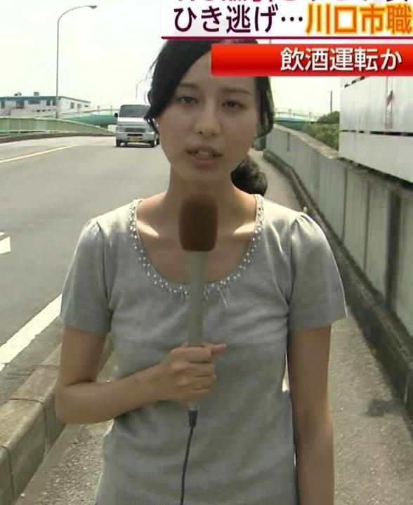 細貝沙羅 キャミ透けTシャツキャプ・エロ画像2