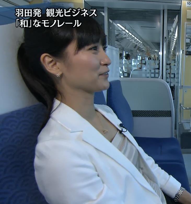 大江麻理子 横乳キャプ・エロ画像6