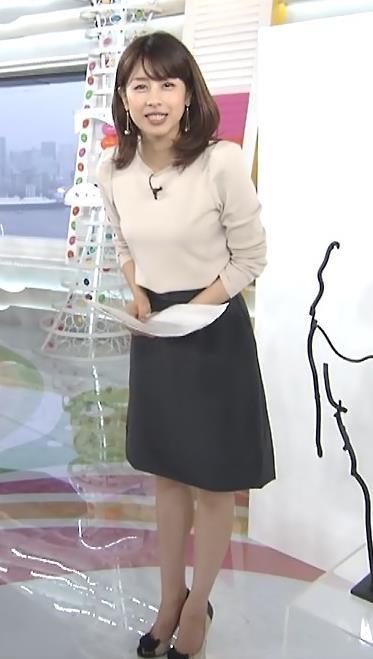 加藤綾子 横乳キャプ・エロ画像4