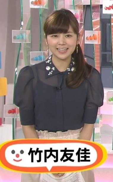 竹内友佳 太ももキャプ・エロ画像3