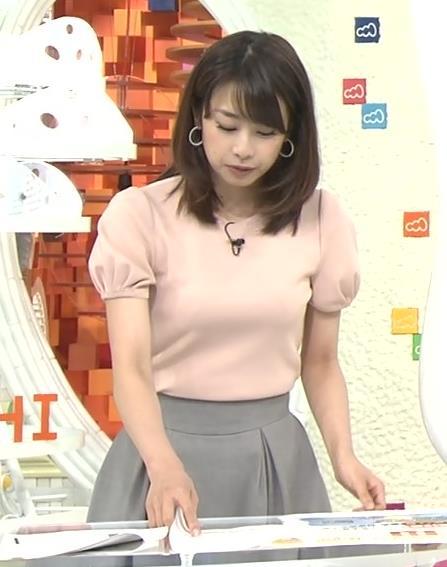 加藤綾子 おっぱいアピール