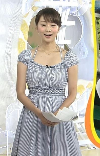 高見侑里 胸元キャプ・エロ画像4