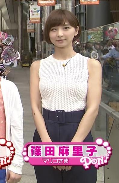 篠田麻里子 おっぱいキャプ・エロ画像3