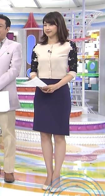 加藤綾子 スタイル抜群キャプ・エロ画像6