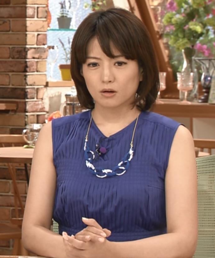 赤江珠緒 ノースリーブキャプ・エロ画像4