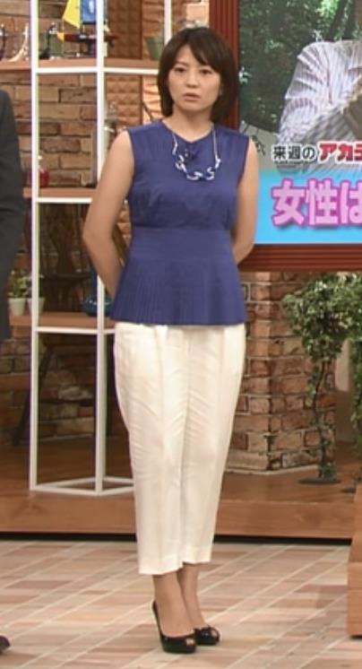 赤江珠緒 ノースリーブキャプ・エロ画像5