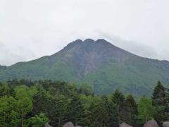 山頂駅からの白根山