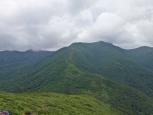 大峠山から見る流石山