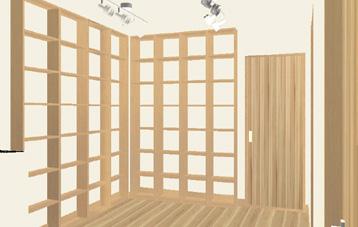 本棚3Dイメージ