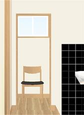 トイレじゃなくて瞑想室