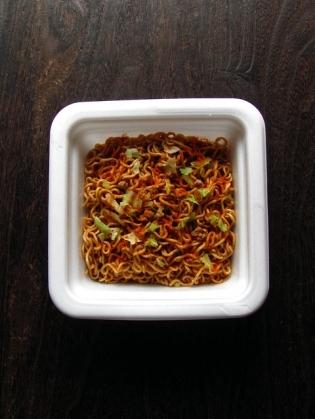 サンヨー食品 「サッポロ一番 アラビヤン スパイシー焼そば 大盛カップ1