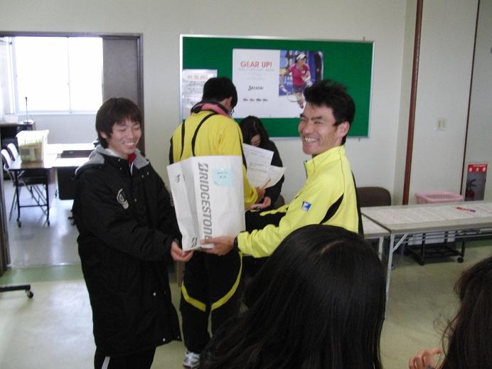 緒方コーチ表彰